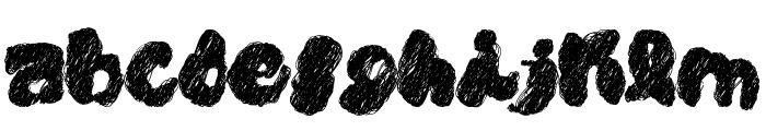PK CoBrA Font LOWERCASE