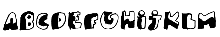 PK Like Guston Font UPPERCASE