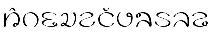 PK Font LOWERCASE