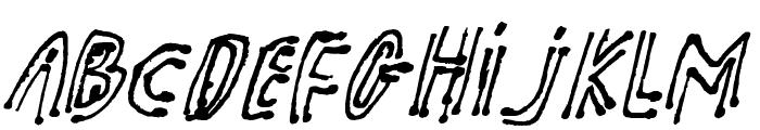 pk shaman Font LOWERCASE