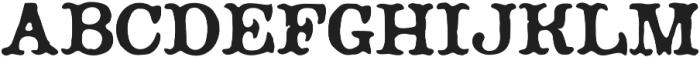 Planchette Regular otf (400) Font UPPERCASE