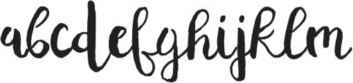 Planine Script ttf (400) Font LOWERCASE