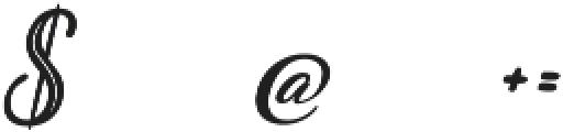 Plastic Beauty ttf (400) Font OTHER CHARS