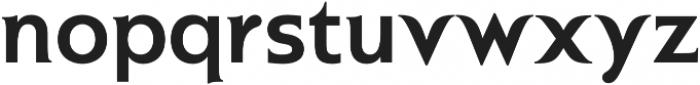 Plastilin Bold otf (700) Font LOWERCASE
