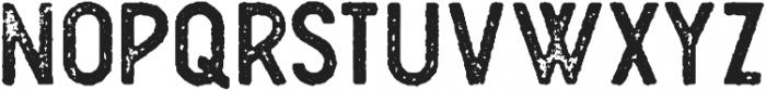 Plat Condensed Grunge 1 otf (400) Font LOWERCASE
