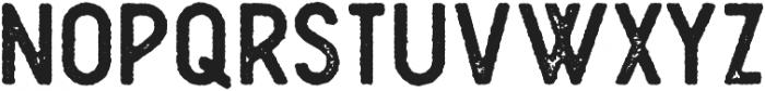 Plat Condensed Grunge 2 otf (400) Font UPPERCASE