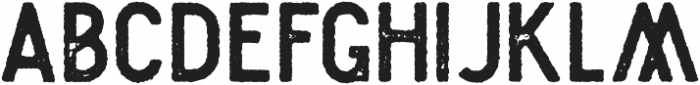 Plat Condensed Grunge 2 otf (400) Font LOWERCASE