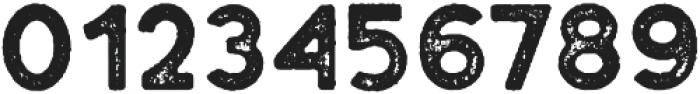 Plat Regular Grunge 1 otf (400) Font OTHER CHARS