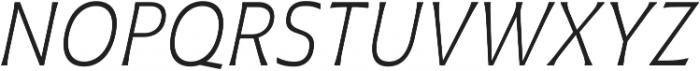 Plathorn otf (300) Font UPPERCASE