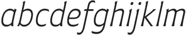 Plathorn otf (300) Font LOWERCASE