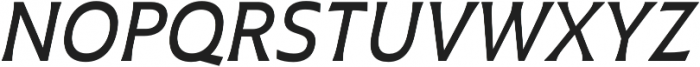 Plathorn otf (500) Font UPPERCASE