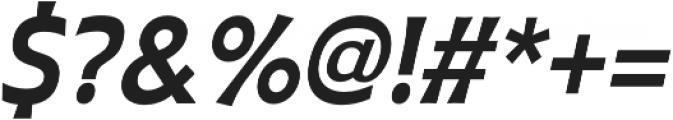 Plathorn otf (700) Font OTHER CHARS