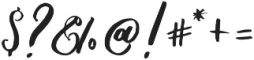 PleasuresItalicTTF ttf (400) Font OTHER CHARS