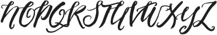 PleasuresItalicTTF ttf (400) Font UPPERCASE