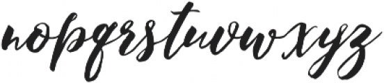 PleasuresItalicTTF ttf (400) Font LOWERCASE
