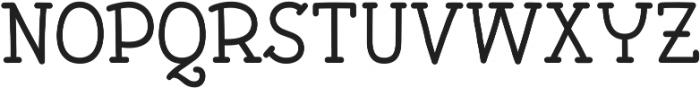 Pleuf Pro Medium ttf (500) Font UPPERCASE