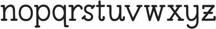 Pleuf Pro Medium ttf (500) Font LOWERCASE