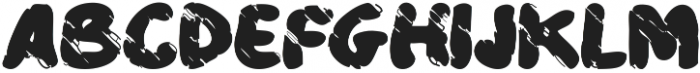Plucky Tattered otf (400) Font UPPERCASE