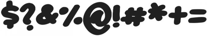 Plucky otf (400) Font OTHER CHARS
