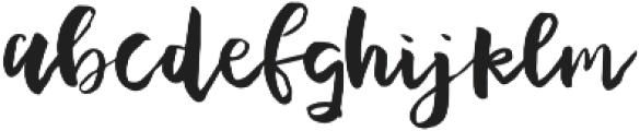 Plumeria Script otf (400) Font LOWERCASE