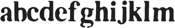 Plummer otf (400) Font LOWERCASE