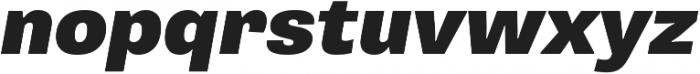 Pluto Sans Black Regular ttf (900) Font LOWERCASE