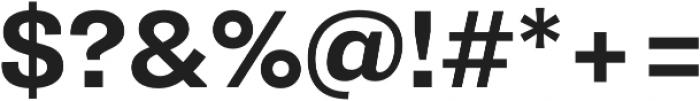 Pluto Sans Bold Regular otf (700) Font OTHER CHARS