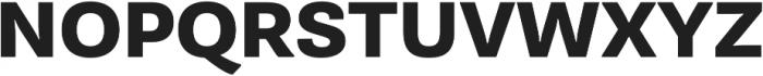 Pluto Sans Heavy Regular otf (800) Font UPPERCASE