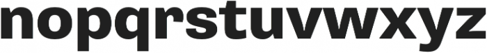 Pluto Sans Heavy Regular otf (800) Font LOWERCASE