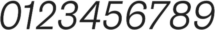 Pluto Sans Light Oblique otf (300) Font OTHER CHARS