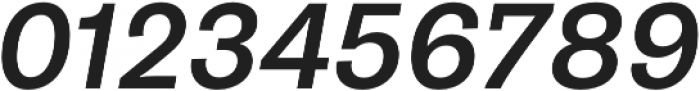 Pluto Sans Medium Oblique otf (500) Font OTHER CHARS