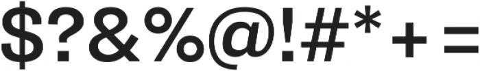 Pluto Sans Medium Regular ttf (500) Font OTHER CHARS