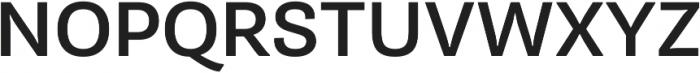 Pluto Sans Medium Regular ttf (500) Font UPPERCASE