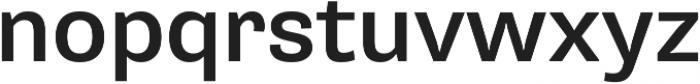 Pluto Sans Medium Regular ttf (500) Font LOWERCASE