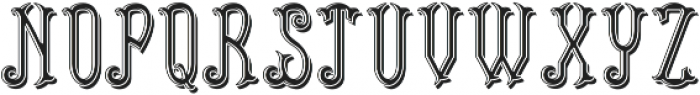 PlymouthFont LightShadow otf (300) Font LOWERCASE