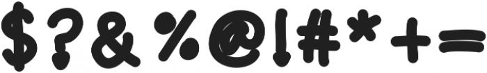 playinspiredbold ttf (700) Font OTHER CHARS