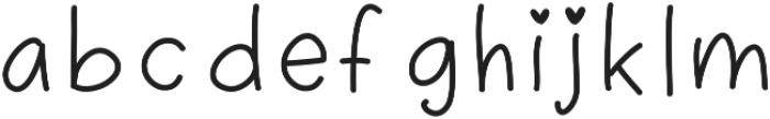 playinspiredthin ttf (100) Font LOWERCASE