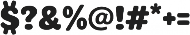 plumps Bold otf (700) Font OTHER CHARS