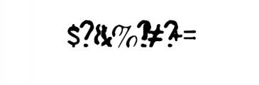 Plummer Script Typeface Font OTHER CHARS