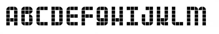 Planet Grid Font UPPERCASE
