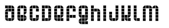 Planet Grid Font LOWERCASE
