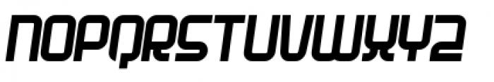Planet Italic Font UPPERCASE