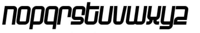 Planet Italic Font LOWERCASE