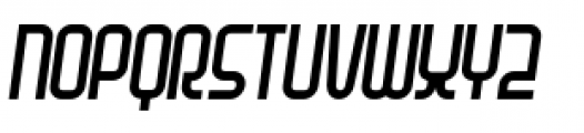 Planet Thin Italic Font UPPERCASE