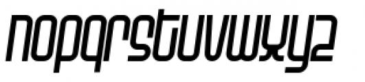 Planet Thin Italic Font LOWERCASE