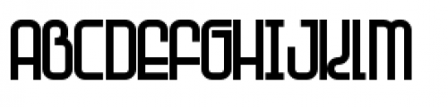 Planet Thin Font UPPERCASE