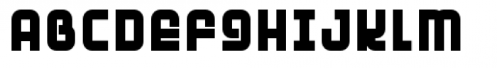 Planet Ultra Font UPPERCASE