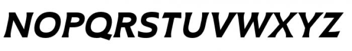 Plathorn Extended Black Italic Font UPPERCASE