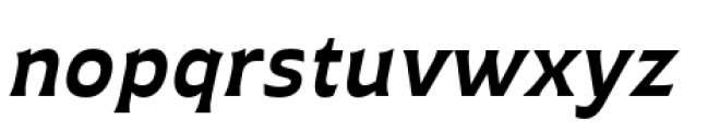 Plathorn Extended Bold Italic Font LOWERCASE