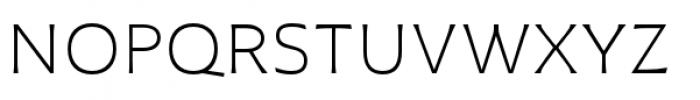 Plathorn Extended Light Font UPPERCASE